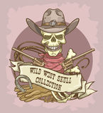 Wild West label Royalty Free Stock Photo