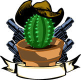 Wild West logo Stock Photography