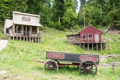 Free Wild West Movie Set ,North Of Fuzine , Croatia Royalty Free Stock Photography - 100038067