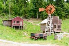 Free Wild West Movie Set ,North Of Fuzine , Croatia Royalty Free Stock Photo - 100038265