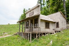 Free Wild West Movie Set ,North Of Fuzine , Croatia Stock Photo - 100340100