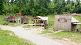 Free Wild West Movie Set ,North Of Fuzine , Croatia Stock Images - 100439584