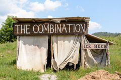 Free Wild West Movie Set ,North Of Fuzine , Croatia Stock Photography - 99603662