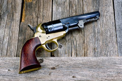 Wild West Pistol. Royalty Free Stock Images