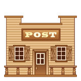 Wild West Post office Stock Photography