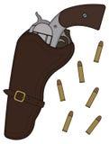 Wild west revolver Royalty Free Stock Photos
