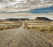 Wild west road Royalty Free Stock Images