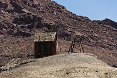 Wild West Shack. In a ghost town Stock Photo