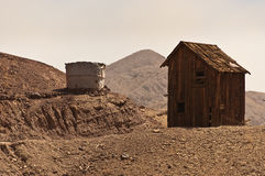 Wild West Shack. In a ghost town Royalty Free Stock Photo