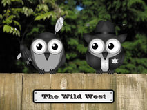 Wild West Sign Stock Photo