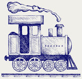 Wild West steam locomotive Royalty Free Stock Photography