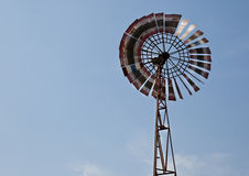 Wild west style windmill Royalty Free Stock Image