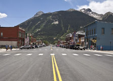 Small  town Colorado Royalty Free Stock Images