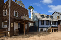 Wild West Town Stock Photography