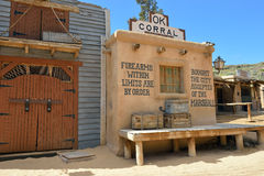 Wild West Town Royalty Free Stock Image
