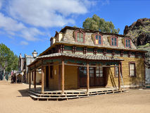 Wild West Town Royalty Free Stock Photography
