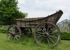 Wild west traditonal vintage old wagon detail Stock Images