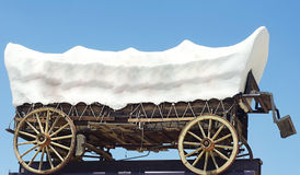 Wild west wagon Royalty Free Stock Images