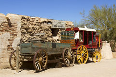 Wild West Wagon Stock Photography