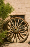 Wild west wagon wheel Stock Photo