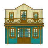 Wild west - western - illustration for the children Royalty Free Stock Photos