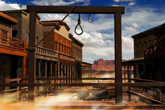 Wild western town Stock Photography