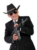 Wild wild west gangster Stock Photos