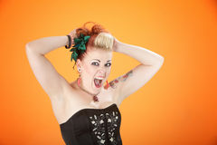 Wild Woman Royalty Free Stock Images