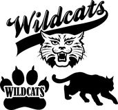 Wildcat Team Mascot/eps Royalty Free Stock Photography