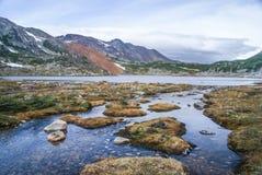 Wilde aard en rivier royalty-vrije stock fotografie