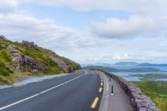 Wilde atlantische Weise Irland Roadtrip stockfotografie