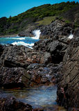Wilde australische Küste Lizenzfreies Stockfoto