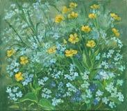Wilde bloemen Stock Foto