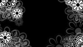 wilde Blumenblumenblätter des Gänseblümchens 4k, Frühlingsbetriebsblüte, Romanze Liebeshochzeitshintergrund lizenzfreie abbildung