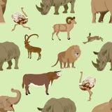 Wilde dieren royalty-vrije illustratie