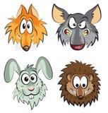 Wilde dieren Royalty-vrije Stock Afbeelding