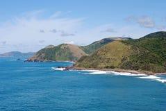 Wilde Küste Transkei Stockfoto