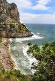 Wilde Landschaft in Gaeta, Italien Lizenzfreie Stockbilder