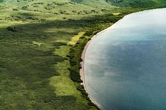 Wilde Natur Kamchatka Kamchatka-Berge Beschaffenheit von Kamchatka, Russland stockfoto