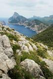 Wilde Natur in Palma de Mallorca Stockfotografie