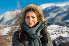 Wilde Natur- und Winterkälte Stockbilder