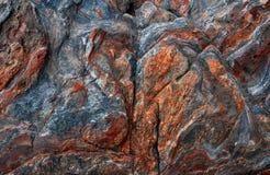 Wilde Naturstein-Felsenbeschaffenheit vulkanisch Abstrakte Naturbeschaffenheit lizenzfreie stockfotos