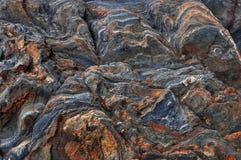 Wilde Naturstein-Felsenbeschaffenheit vulkanisch Abstrakte Naturbeschaffenheit lizenzfreie stockbilder