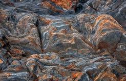 Wilde Naturstein-Felsenbeschaffenheit vulkanisch Abstrakte Naturbeschaffenheit stockbilder