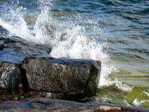 Wilde oceaan 2 Royalty-vrije Stock Foto