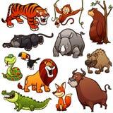 Wilde Tiere lizenzfreie abbildung