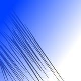 WILDE TIG Blauwe Gestreepte wildernis van LIJNEN de ETNISCHE lijnen stock foto