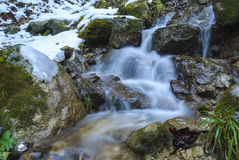 Wilde waterval Royalty-vrije Stock Foto's