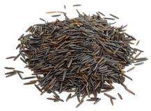 Wilde zwarte rijst Royalty-vrije Stock Afbeeldingen