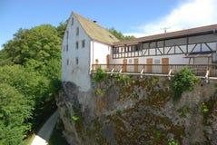 Wildenstein城堡 图库摄影